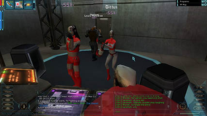 Anarchy Online: SSX AO Dance Troupe