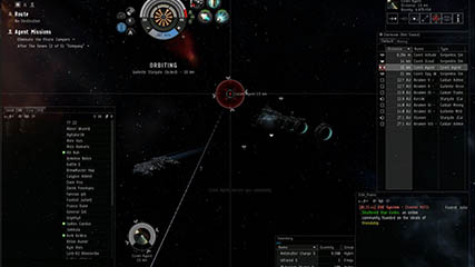 EvE Online: Khizune shows off the EvE interface