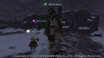 Final Fantasy XI: I keep seeing this guy!