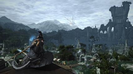 Final Fantasy XIV: M.Steiner in a moment of contemplation