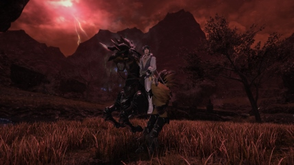 Final Fantasy XIV: M.Steiner exploring strange new zones