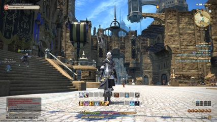 Final Fantasy XIV: Anubis as a newbie - chilling in Uldah!