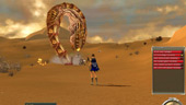 Guildwars: A BIG sandworm in the desert