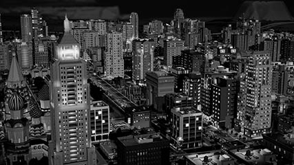 Sim City: Avapopulous night shot