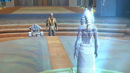 The Old Republic: BlackDove Receiving a Mission (Beta)