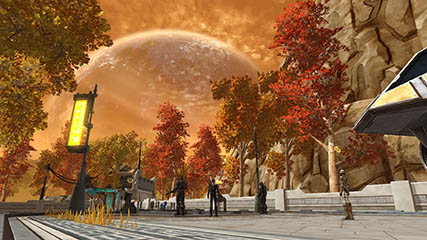 The Old Republic: First view of the planet Voss