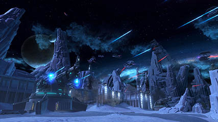 The Old Republic: Imperial attack on the Republic base, Ilum