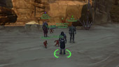 The Old Republic: Ash, NF & MS with their new Rakling pets [Rakghoul Plague Event]