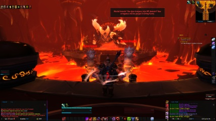 World of Warcraft EU: WoW 2016 - The True Form of Ragnaros from Cataclysm (Solo)